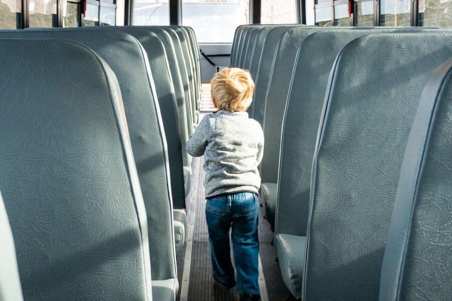 viaggiare con bambini in pullman